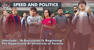 University of Toronto Rally For Free Speech